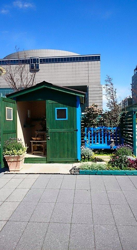 ガーデニング・キャビン(木製物置小屋)