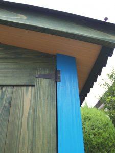 外側天井・屋根|ガーデニング用木製ガーデンシェッド・物置小屋