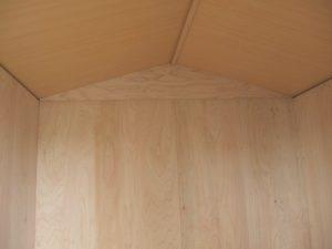 内側天井|ガーデニング用木製ガーデンシェッド・物置小屋